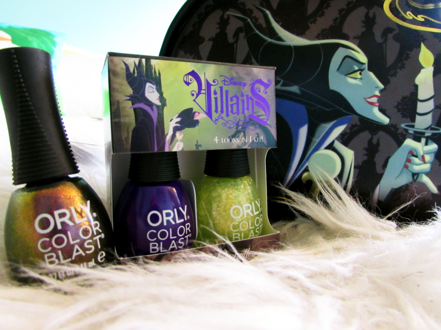 Disney Villains Nail Collection by ORLY from Walgreens AND
